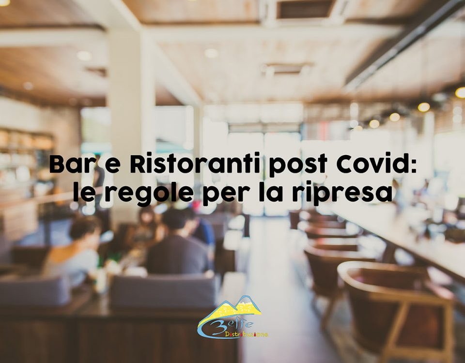 bar e ristoranti post Covid